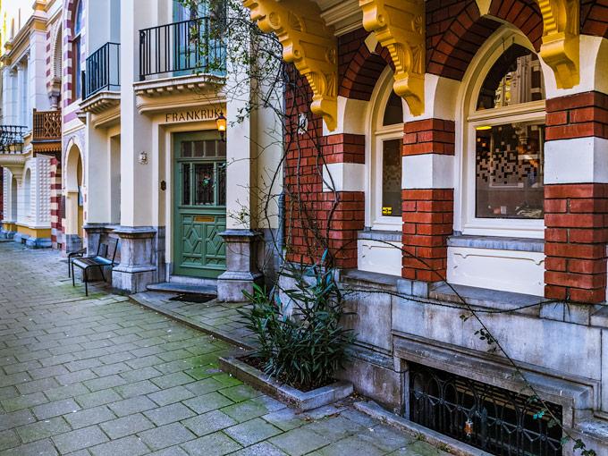 Zevenlandenhuisen Amsterdam international houses