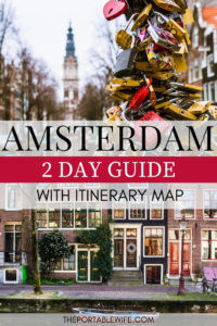 2 Days in Amsterdam Itinerary with Map