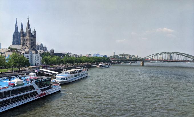 Ferries on the Rhine