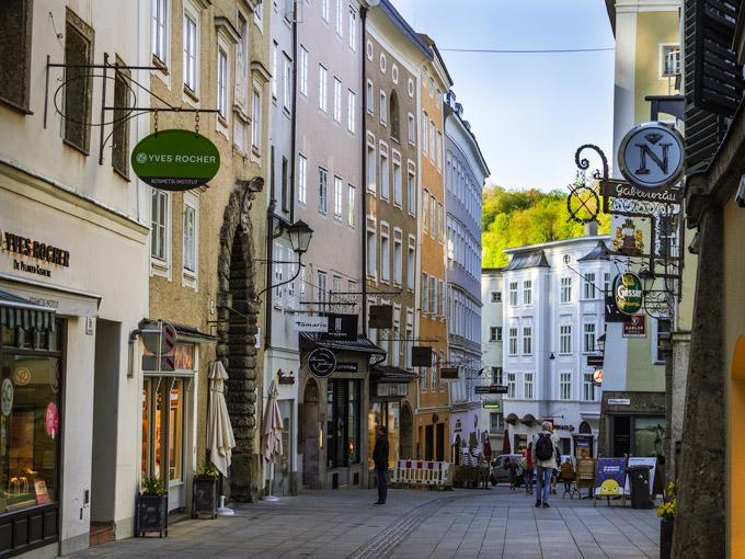 Salzburg Linzer Gasse street view
