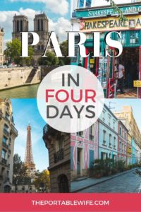 Paris in 4 Days Itinerary