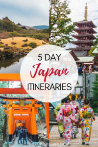 5 Day Japan Itinerary Ideas