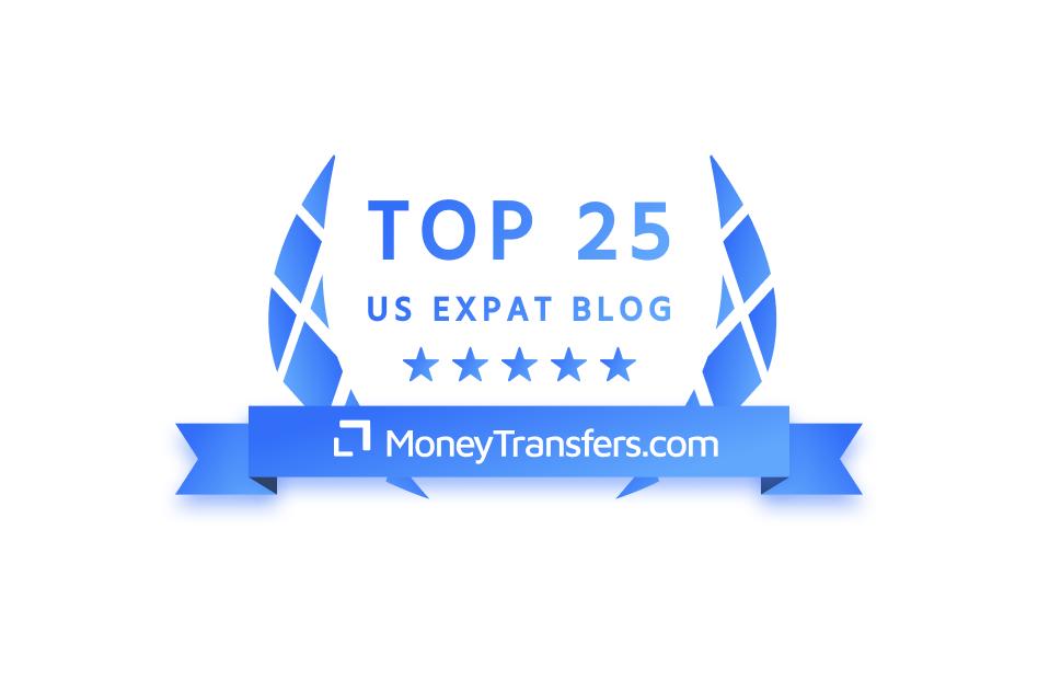 Top 25 US Expat Blog badge
