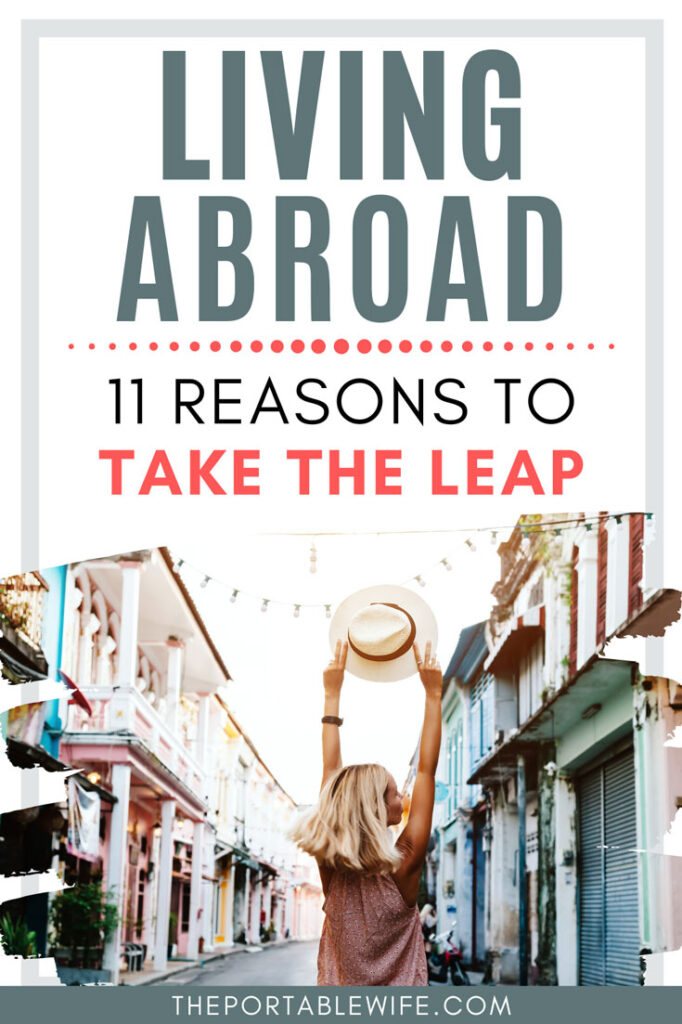 Living Abroad: 11 Reasons to Take the Leap - girl holding hat on street