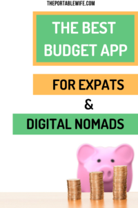The best budgeting app for expats and digital nomads