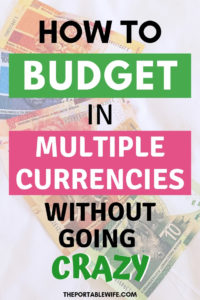 The Best Budgeting App for Multiple Currencies