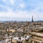 20 Best European Cities for Photography Lovers - Panoramic view of Paris France skyline