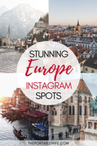 Stunning Europe Instagram Spots - Hallstatt, Prague, Venice, and Budapest