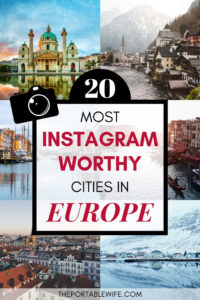 20 Most Instagram Worthy Places in Europe