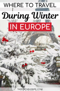 Where to travel during winter in Europe