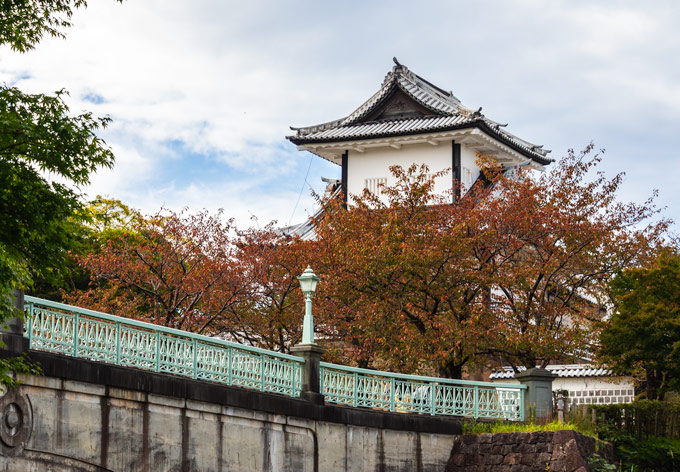View of Kanazawa Castle, an essential stop for a day trip to Kanazawa