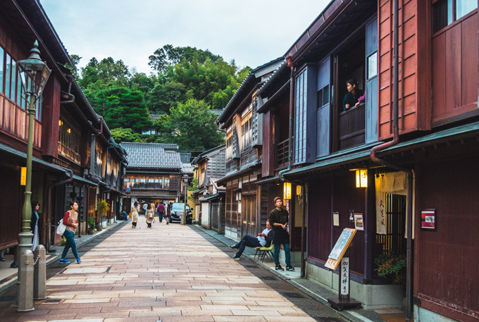 Kanazawa Higashiyama Chaya, an essential stop if you have 5 days in Japan