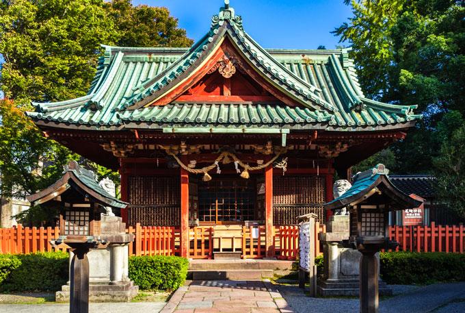 Ozaki Shrine in Kanazawa Japan