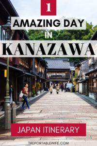 Kanazawa Day Trip Itinerary - Higashi Chaya street