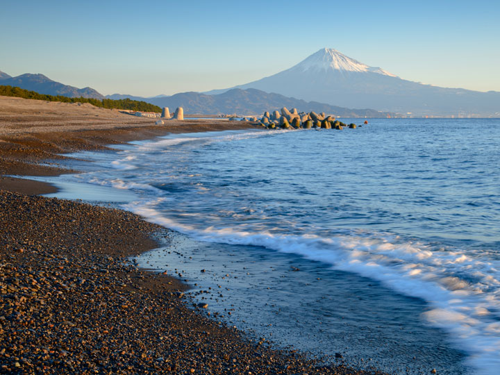 Miho no Matsubara beach with Mount Fuji views is one of the best day trips from Kyoto