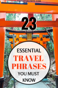 23 Essential Travel Phrases You Must Know