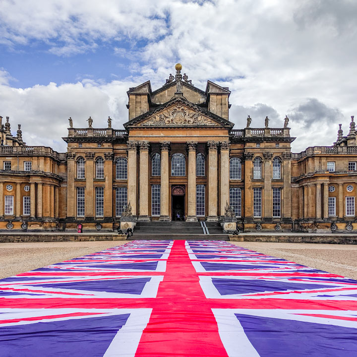 Blenheim Palace entry from theportablewife Instagram