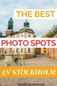 The Best Photo Spots in Stockholm