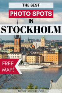The best photo spots in Stockholm - view of cityscape across river