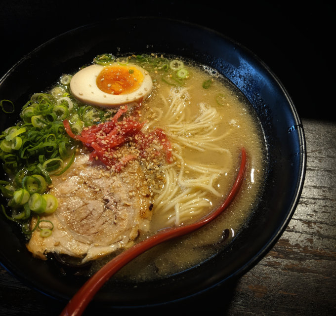 Bowl of Japanese ramen