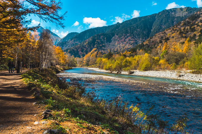 Kamikochi hiking guide for the Japanese Alps