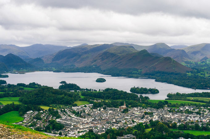 How to Travel Keswick England's Stunning Latrigg Walk