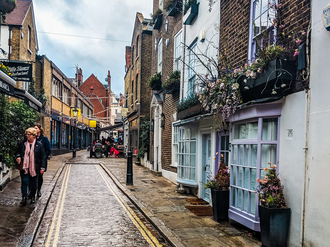 Perrin's Court in Hampstead London
