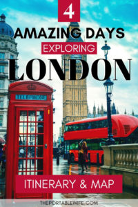 Amazing 4 Day London Itinerary