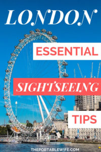 Essential London Sightseeing Tips