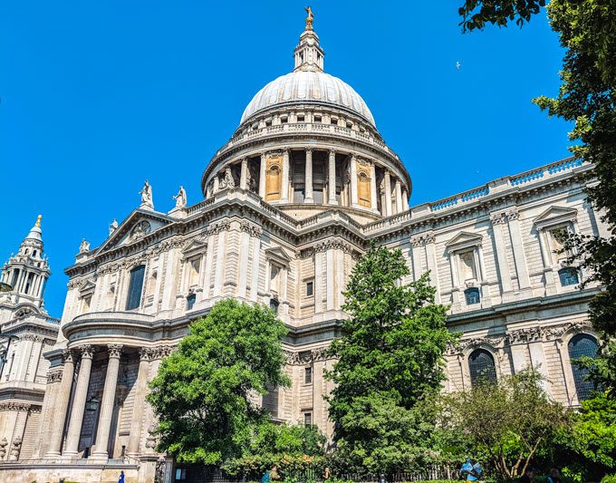 London sightseeing tips: St. Paul's Cathedral