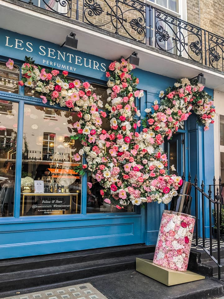 A visit to Les Senteurs flowershop is the perfect reward for completing this moving to London checklist