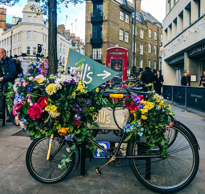 London Coven tGarden Bicycle