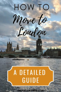 How to Move to London Guide