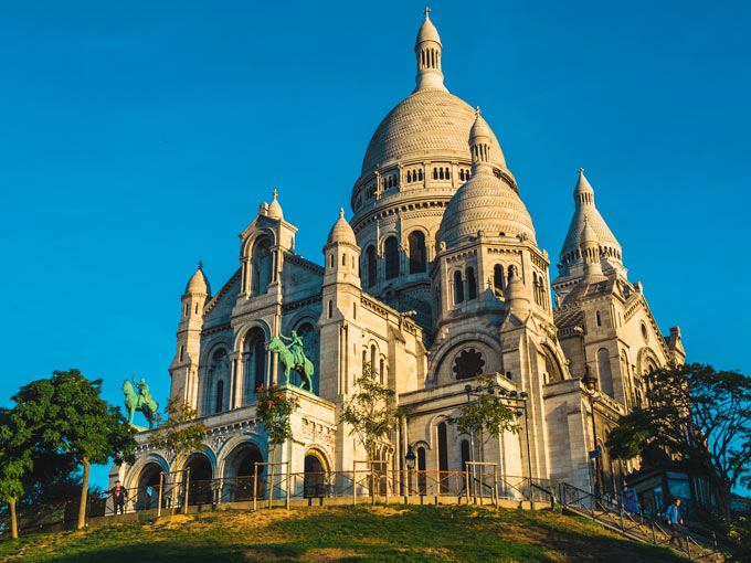 Sacre Coeur is a must see in a 4 day Paris itinerary