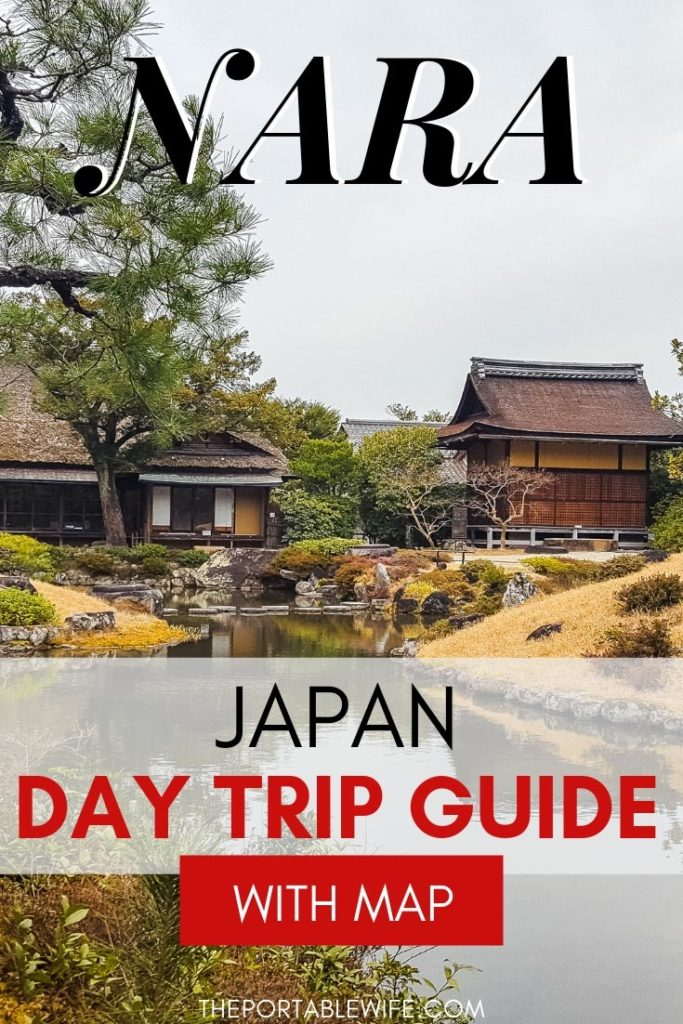 One Day in Nara Japan: Nara Day Trip Guide - Isuien Garden huts and pond