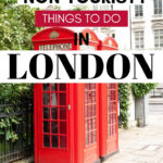 15 Non Touristy Things to do in London - iconic red phone booths