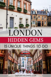London hidden gems: 15 unique things to do in London - mews houses and Leadenhall market