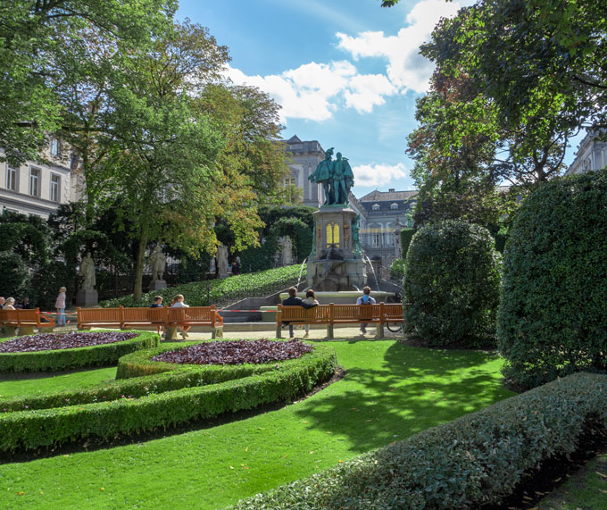 Brussels Egmont Palace
