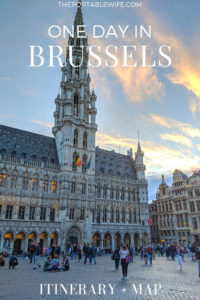 One day in Brussels: Itinerary + Map