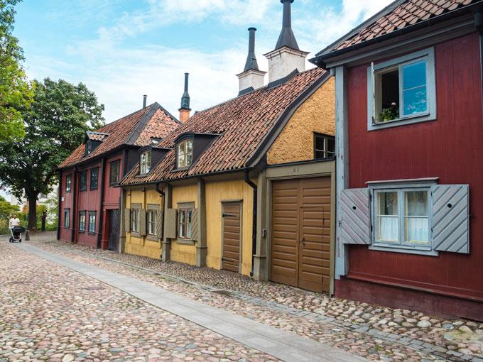 Stockholm Katarina Road Houses