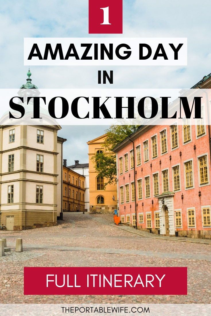 1 Day in Stockholm Full Itinerary - Riddarholmen Square