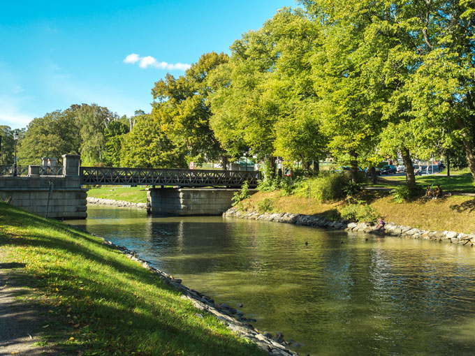 Stockholm Kunglinga Park Canal