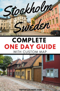 Stockholm, Sweden: Complete One Day Guide with Custom Map