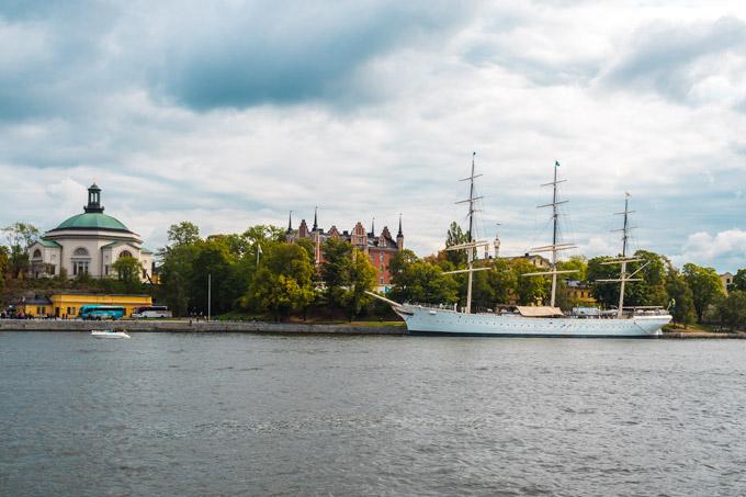 One Day in Stockholm Skeppsbrokajen