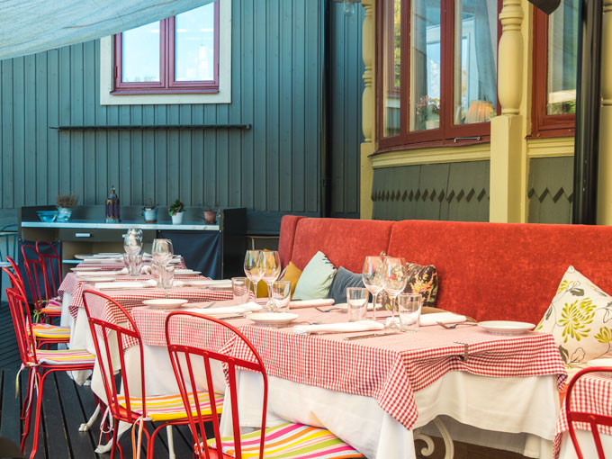 Stockholm Villa Godthem Restaurant