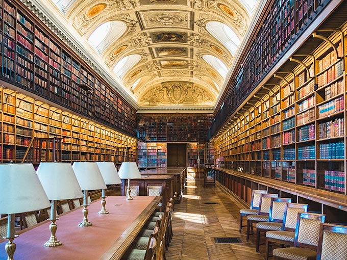 4 day Paris itinerary - Luxembourg Library