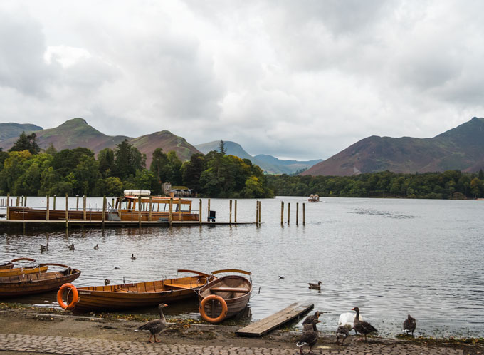 Derwent Water Boat Tour, a romantic Lake District break excursion