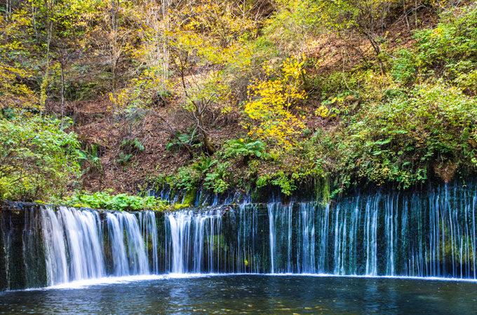 Karuizawa Shiraito Falls in Nagano