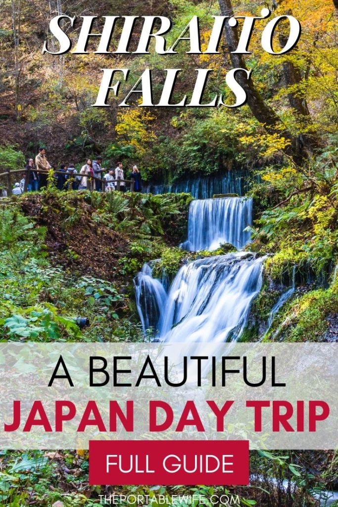 Shiraito Falls: Karuizawa Day Trip Guide