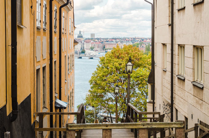 Stockholm photo spots overlooking the city skyline